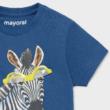 Mayoral zebrás rövid ujjú felső