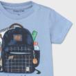Mayoral hátizsákos póló elhúzható cipzárral