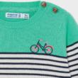 Mayoral csíkos kötött pulóver