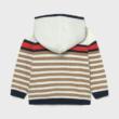 Mayoral csíkos cipzáros pulóver