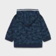 Mayoral pálmafás  cipzáros pulóver kapucnival