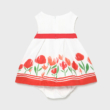 Mayoral csodaszép virágos ruha alsóval