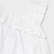 Mayoral csodaszép hímzett lenvászon ruha
