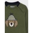 Mayoral kiskutyás pamut pulóver