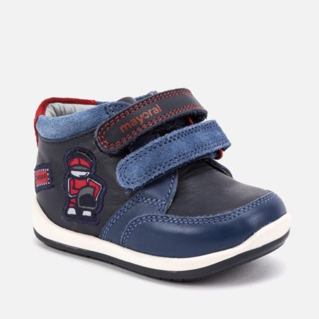 Mayoral kisfiú bőrcipő