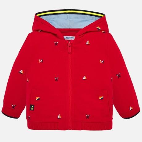 Mayoral Cipzáros kapucnis pulóver