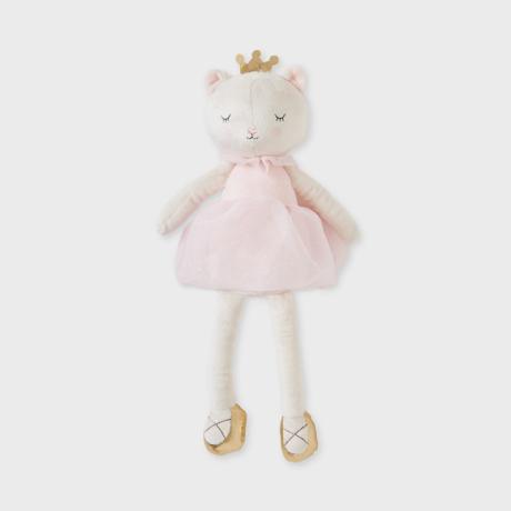 Mayoral hercegnős cicás plüss figura díszdobozban